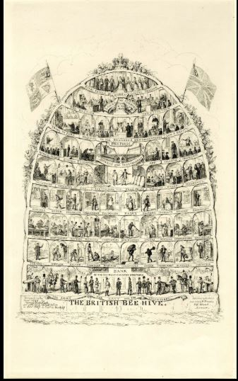 The British Bee Hive George Cruikshank 1840 (1867)