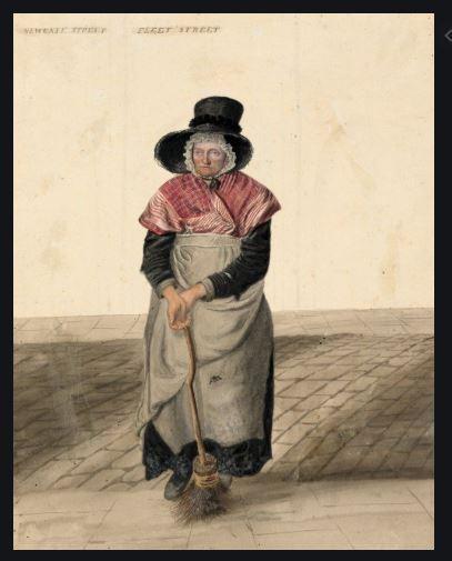 John dempsey Cross Sweeper London 1820
