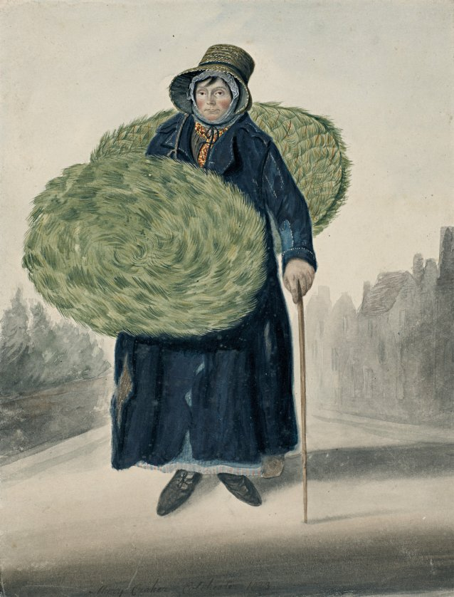 Mary (or Diane) Croker mat women, Colchester 1823